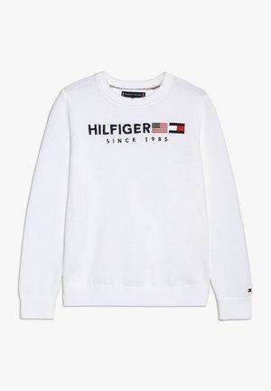 FLAG  - Jumper - white