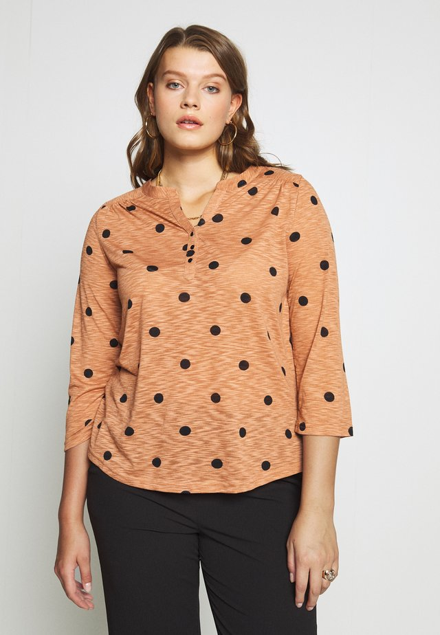 CAMELLA  - Long sleeved top - rose copper