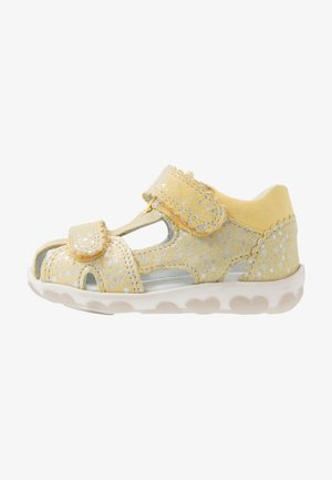 FANNI - Baby shoes - gelb