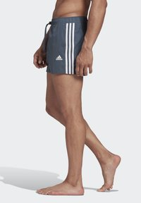adidas Performance - STRIPES CLX SWIM SHORTS - Bañador - blue - 2