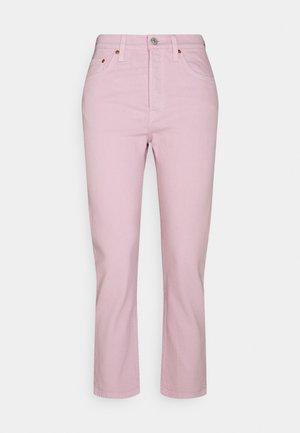 501 CROP - Slim fit jeans - dark lilac