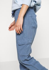 American Eagle - Cargo trousers - blue - 4