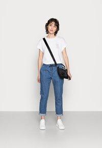 Rich & Royal - LIGHT PANTS - Trousers - denim blue - 1