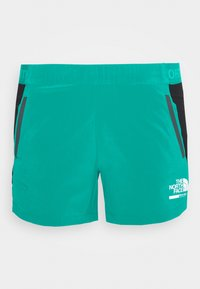 The North Face - WOMENS GLACIER - Outdoor Shorts - jaiden green - 3