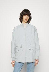 Ecoalf - KELP REVERSIBLE JACKET WOMAN - Short coat - navy - 0