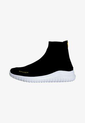 Sneakers hoog - black melange