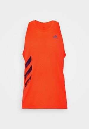 SINGLET - Sports shirt - solred