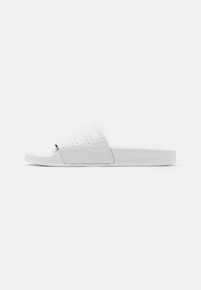 ADILETTE UNISEX - Mules - footwear white