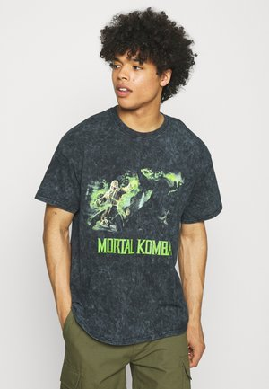 MORTAL KOMBAT - Print T-shirt - grey