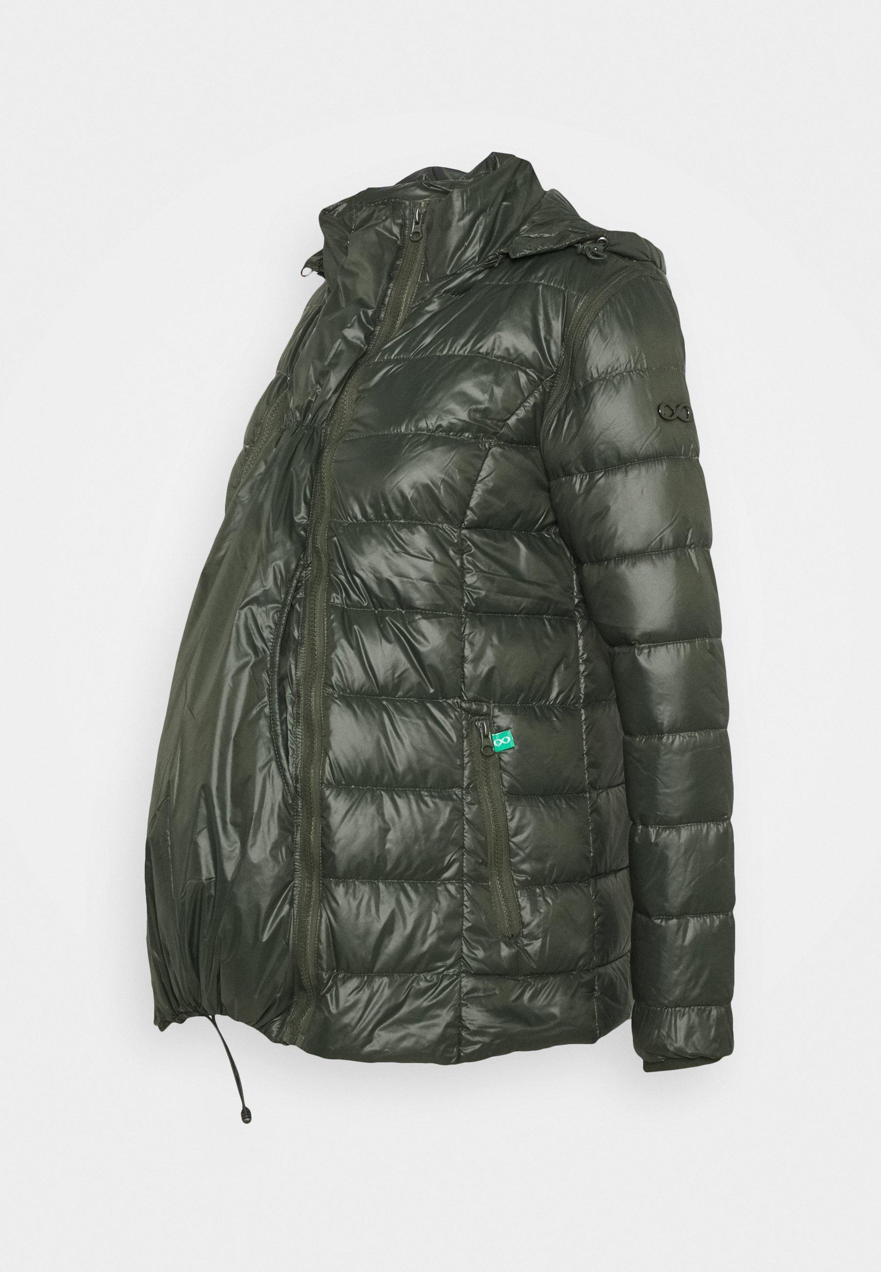 New Look FITTED PUFFER STYLING Lett jakke black Zalando.no