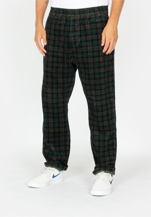 Tracksuit bottoms - breck check print / grove