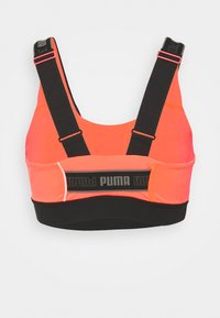 Puma - HIGH IMPACT FAST LAUNCH BRA - Reggiseno sportivo con sostegno elevato - lava blast/black - 1