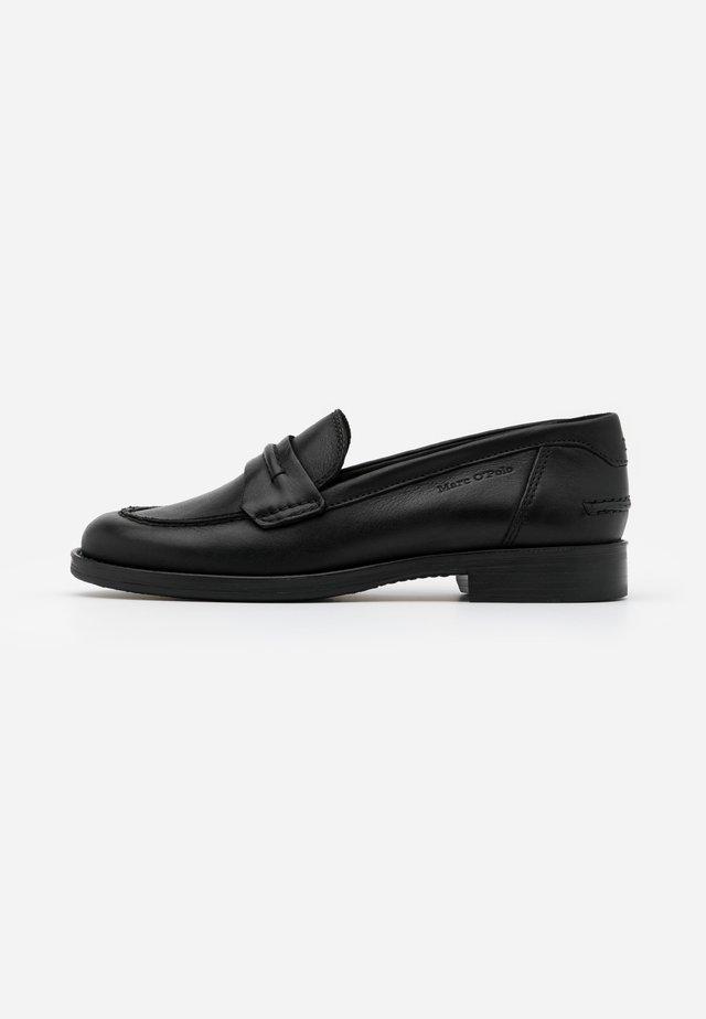 ELLENA - Nazouvací boty - black