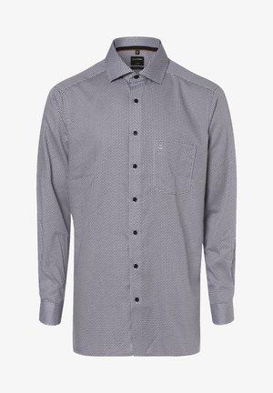 Shirt - messing blau
