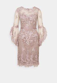 Luxuar Fashion - Vestido de cóctel - mauve - 0