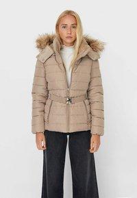Stradivarius - Winter jacket - brown - 0