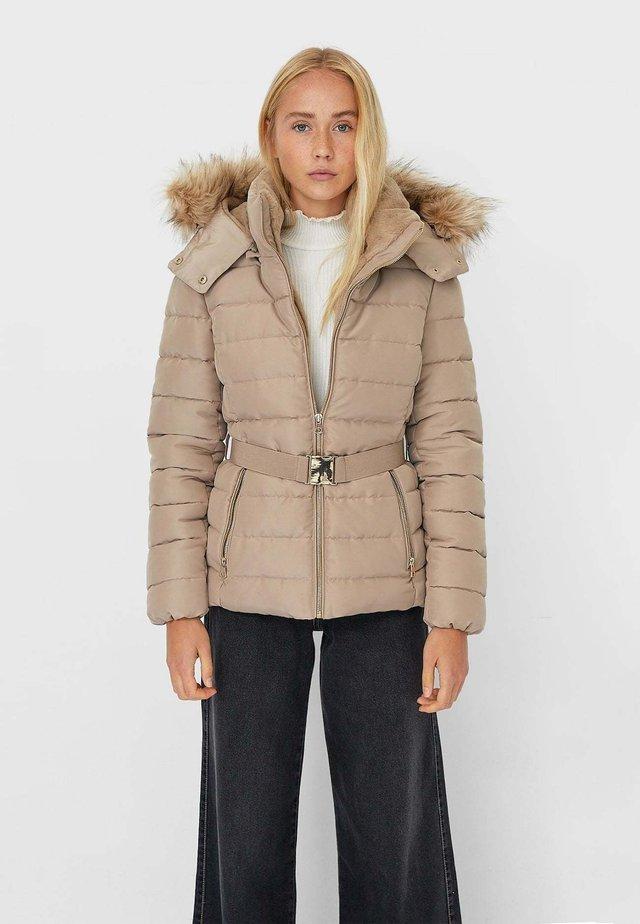 Zimní bunda - brown
