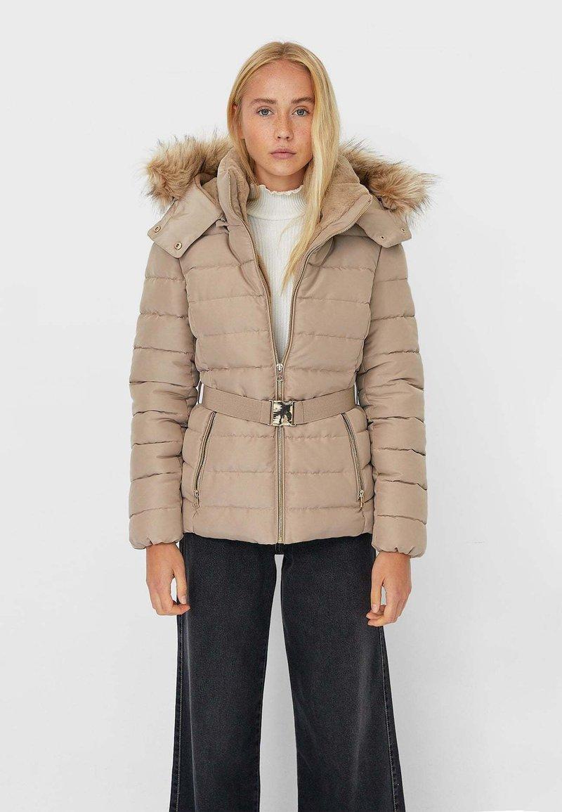Stradivarius - Winter jacket - brown