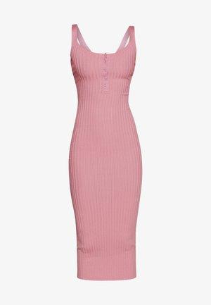 POPPER MIDAXI DRESS - Vestido de tubo - ash rose