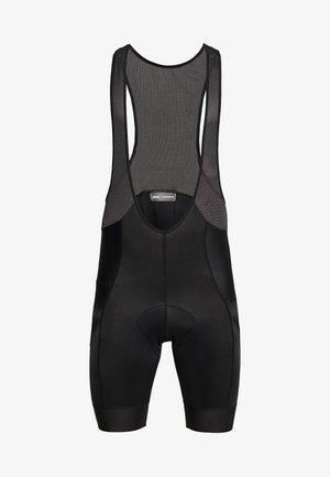 PURE BIB SHORTS - Leggings - uranium black/uranium black