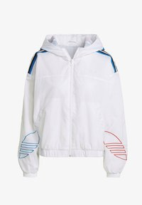 adidas Originals - ADICOLOR TRICOLOR  - Windbreaker - white - 6