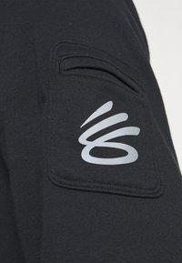 Under Armour - CURRY UNDRTD UTILITY HOODY - Sweatshirt - black - 4