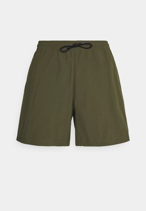 Outdoor shorts - olive night
