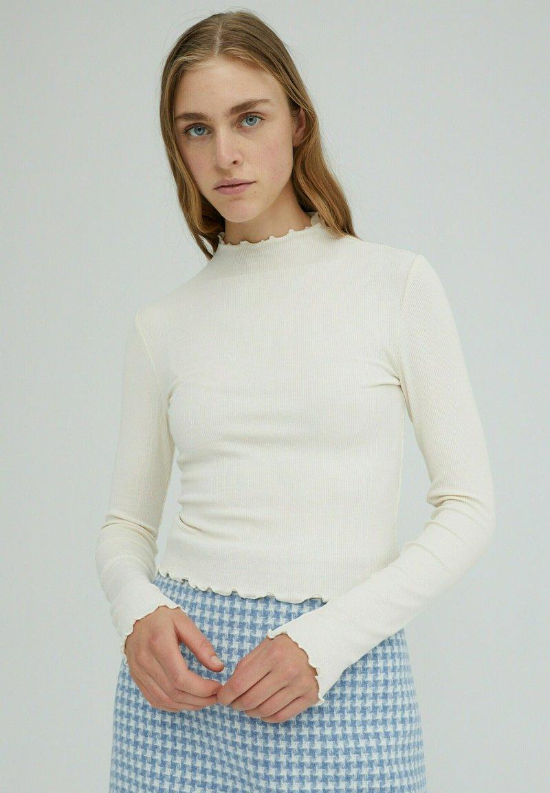 EDITED - Long sleeved top - beige