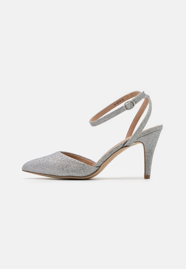 WIDE FIT REMY - High heels - silver