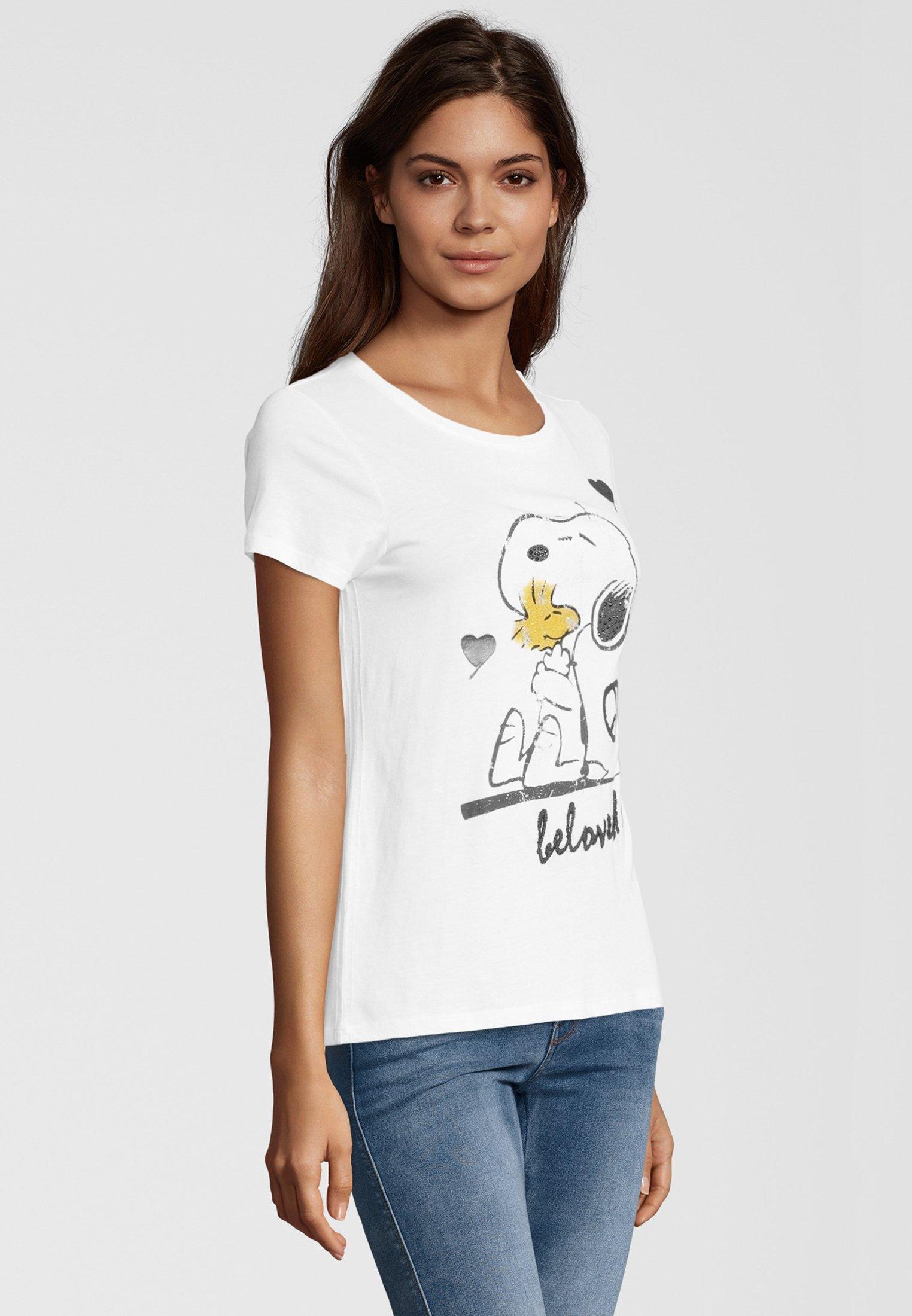 PRINCESS GOES HOLLYWOOD Sweatshirt mit Peanuts® Print in
