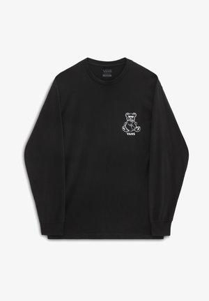 MN VANS WORLD CODE LS - Long sleeved top - black