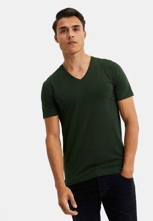 Basic T-shirt - moss green