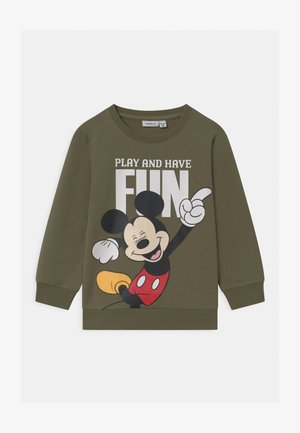 DISNEY MICKEY MOUSE  - Sweatshirt - deep lichen green