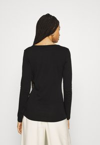 G-Star - CORE EYBEN SLIM U T WMN L\S - Long sleeved top - black - 2