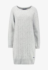 Sea Ranch - ANNET DRESS - Jumper dress - grey melange - 4