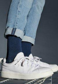 Natural Vibes - SOCKEN 2 PACK AUS BIOBAUMWOLLE - Socks - blue - 0