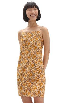 Day dress - trippy floral