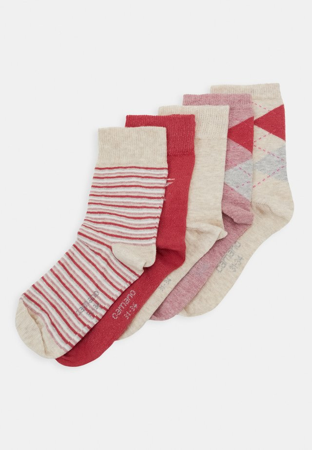 ONLINE CHILDREN SOCKS 5 PACK - Calcetines - winter berry