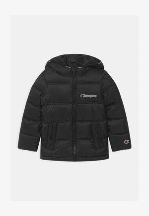 ROCHESTER HOODED UNISEX - Winter jacket - black