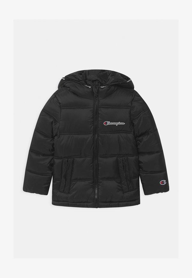 ROCHESTER HOODED UNISEX - Zimní bunda - black