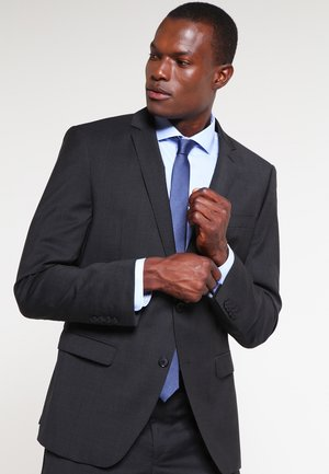SLIM FIT - Suit - anthrazit