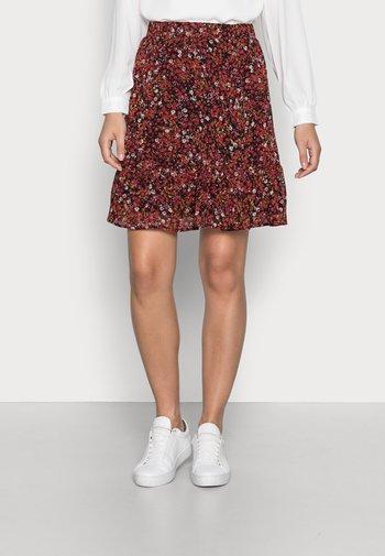 FLUENT - A-line skirt - black