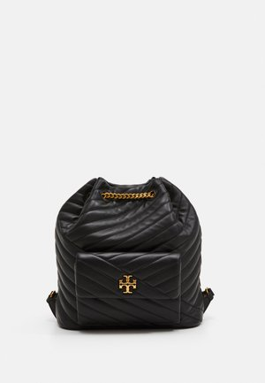 KIRA CHEVRON DRAWSTRING BACKPACK - Plecak - black