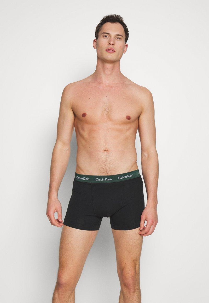 Calvin Klein Underwear - TRUNK 3 PACK - Pants - black