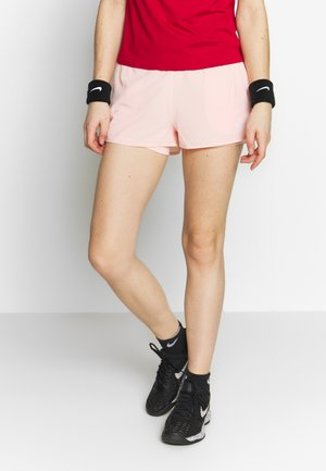 FLEX - Sports shorts - washed coral/white