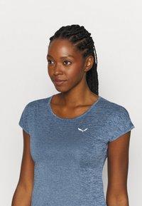 Salewa - PUEZ DRY TEE - T-shirts print - poseidon melange - 3