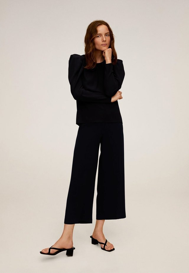 CHARLES - Spodnie materiałowe - schwarz