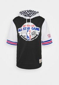 Mitchell & Ness - NBA ALL STAR FASHION HOODY - Print T-shirt - black/silver - 4