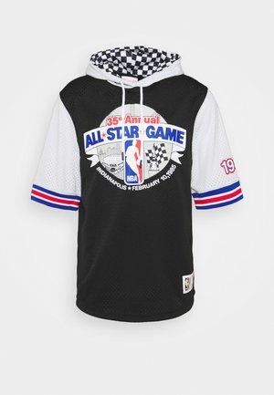 NBA ALL STAR FASHION HOODY - T-shirt z nadrukiem - black/silver