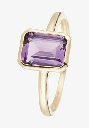 WOMEN'S GOLD - Ring - violet